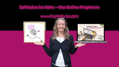 Zufrieden ins Büro - Das Online Programm | Foto: Birgit Schulze
