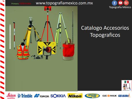 catalogo de accesorios topograficos
