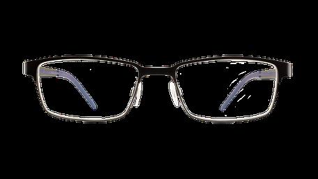 Brille von vorne geöffnet