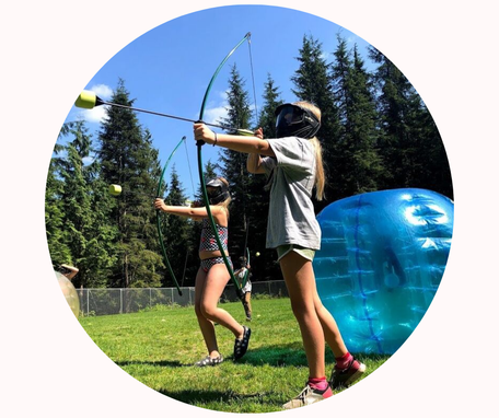 Battle Archery at Loon Lake