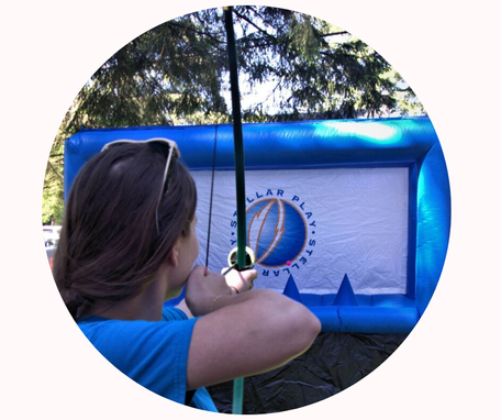 Hover Archery for Coquitlam Festival