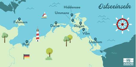 Versandreinigung-mueden.de, Leistungen, Inselreinigung, Ostseeinseln, Voucher Wonderland