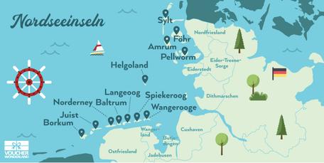 Versandreinigung-mueden.de, Leistungen, Inselreinigung, Nordseeinseln, Voucher Wonderland