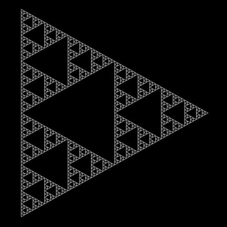 Sierpinski Variante 1
