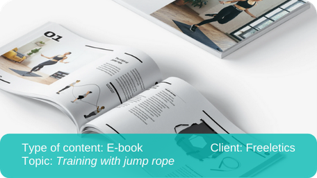 Translation of e-book: Training with jump rope