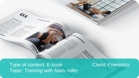 Translation of e-book: Training with foam roller