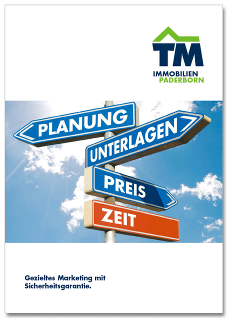 Marketingplan TM Immobilien Paderborn