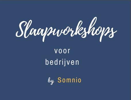 Slaapworkshops voor bedrijven