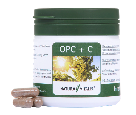 Natura Vitalis OPC plus Vitamin C for a better Life