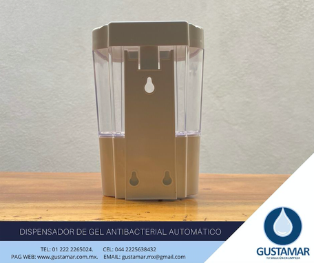 DISPENDASOR DE GEL ANTIBACTERIAL