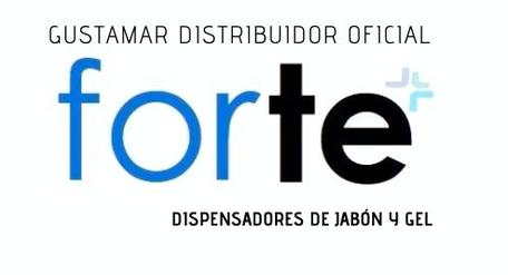 DISPENSADORES DE GEL ANTIBACTERIAL Y JABÓN ÍQUIDO FORTE F4364-BT