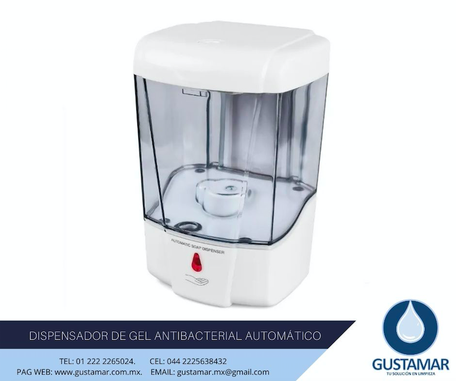 DISPENSADORES DE GEL ANTIBACTERIAL
