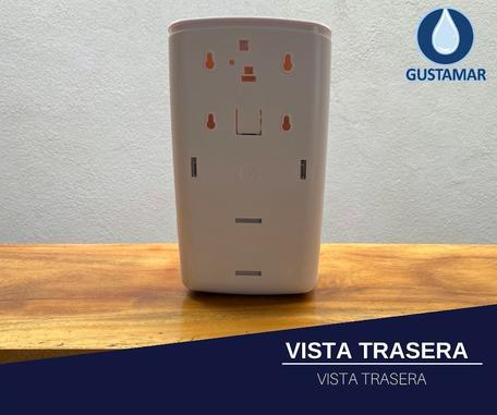 VISTA TRASERA DEL DISPENSADOR AUTOMÁTICO PARA GEL TITÁN 51055