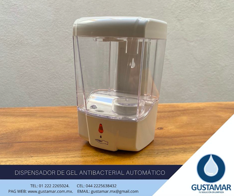 DISPENSADORES DE GEL  AUTOMÁTICOS
