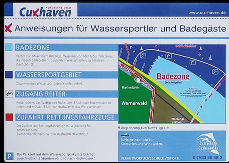 Revier Regeln Sahlenburg Cuxhaven Nordsee
