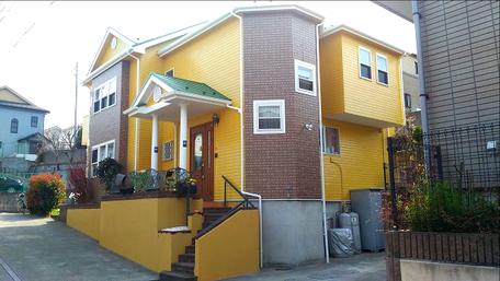 川口市の戸建住宅、外壁塗装・屋根塗装工事完了後の写真