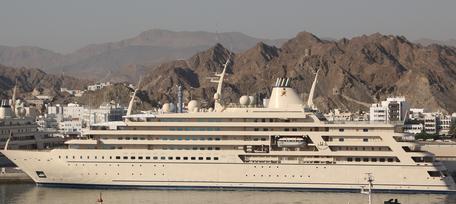 Fulk Al Salamah_die längsten Yachten_Sultan Oman