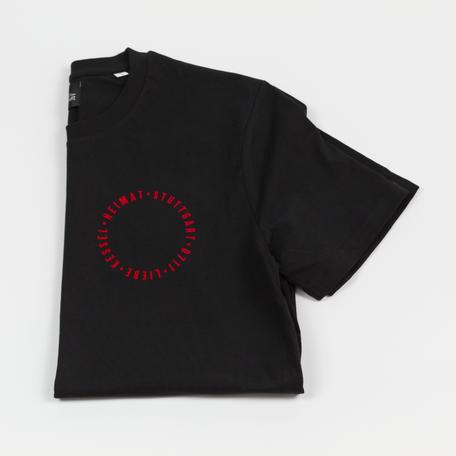 T-Shirt schwarz, Stuttgart T-Shirt, Stuttgart Klamotten