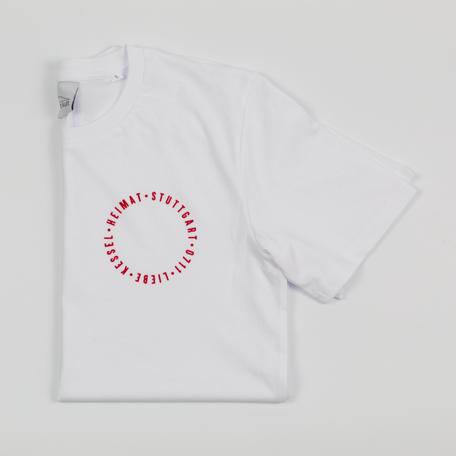 T-Shirt weiß, Stuttgart T-Shirt, Stuttgart Klamotten