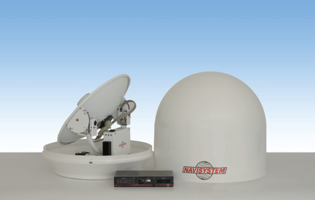 antenna satellitare tv navisystem marine satellite nautica yacht imbarcazione ship vessel