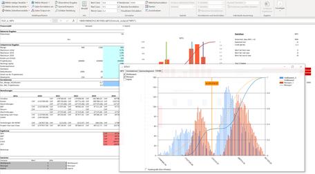 MC FLO Simulation Monte Carlo Excel Verteilungsanpassung