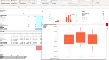 MC FLO Simulation Monte Carlo Excel Zeitreihe Schätzung