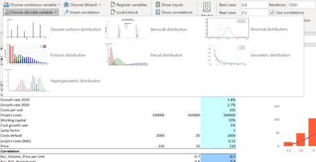 MC FLO Monte Carlo Simulation Excel