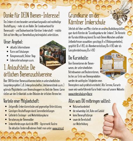 Imkern - was erwartet mich in der Bienenhaltung? Innenseiten
