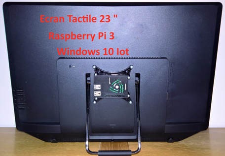 Borne tactile windows iot