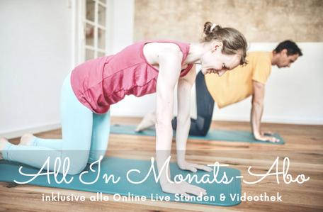 Online Pilates für eine gesunde Wirbelsäule und einen flachen Bauch