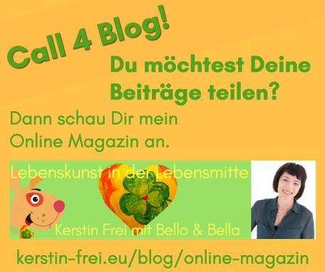 Netzwerk 50plus Ü50 Hundeliebe Hundezubehör Hunde Lebenskunst in der Lebensmitte Kerstin Frei Bello & Bella Online Magazin