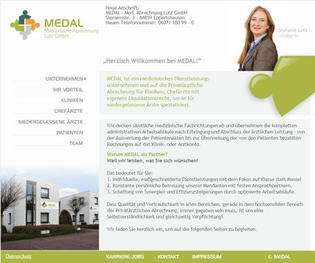 Logopädie Homepage Rödermark Onlinedesign