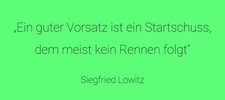 Vorsätze Siefried Lowitz
