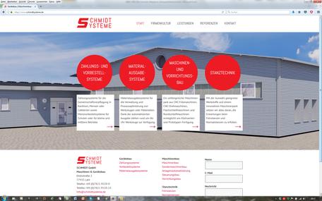 Schmidt GmbH, Maschinen & Gerätebau, Lahr