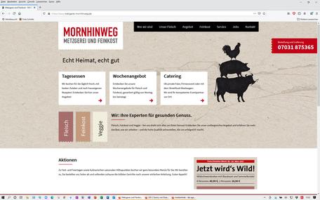 MORNHINWEG Metzgerei und Feinkost | Sindelfingen