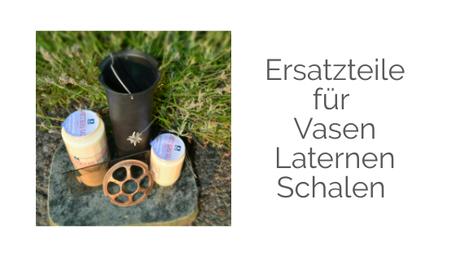 Ersatz Scheibe Glas Laterne Licht Lampe Vase Plastik Bronze