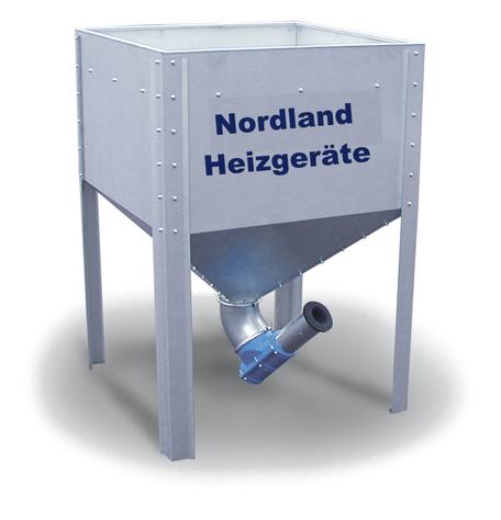 Pelletlager Midi von Nordland Heizgeräte