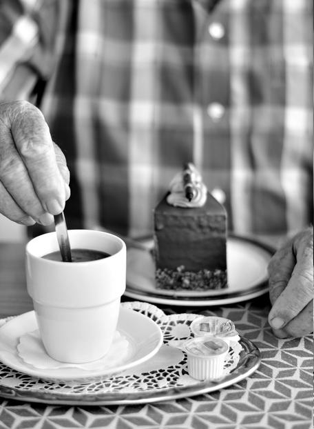 Kaffee und Kuchen - Rentenversicherung