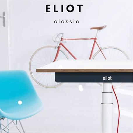 Höhenverstellbarer ELIOT Schreibtisch
