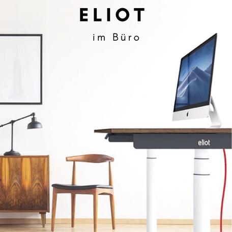 Höhenverstellbarer Schreibtisch ELIOT im Office