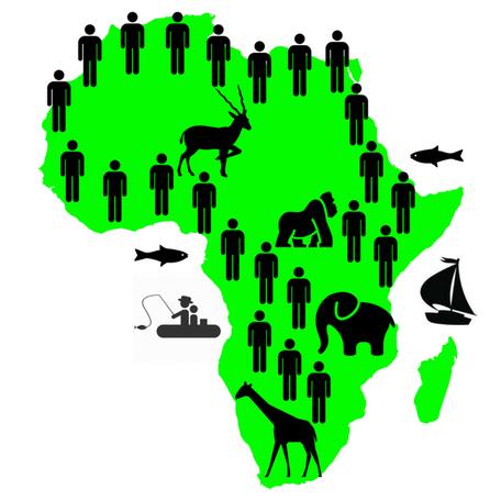Bevölkerung Geburtenrate Afrika Wachstum schnell