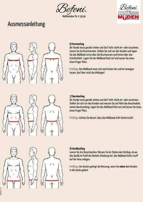 mueden.de, masshemd, Gesichtsmaske, Ausmessanleitung Seite #3 Brust