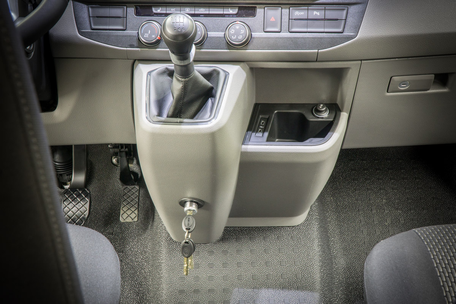 Bear Lock Ganschaltungssperre im VW T6.1 Facelift Handschalter