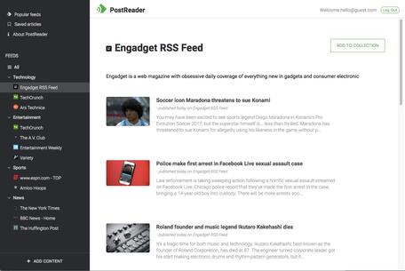 PostReader Screenshot
