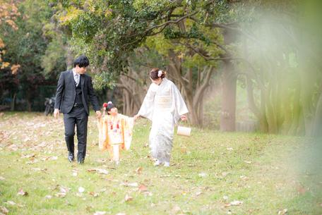 七五三撮影 出張カメラマン 出張撮影 3歳七五三 神奈川 藤沢 家族写真 ロケーションフォト 七五三
