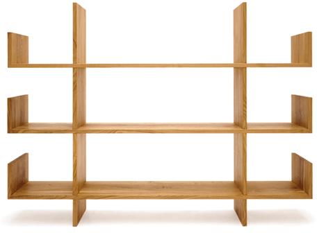 Massivholzmöbel Tossa Möbeldesign Regal freigestellt