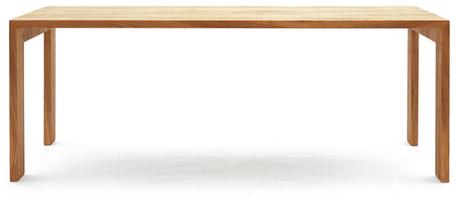 Massivholzmöbel Tossa Möbeldesign Tisch freigestellt