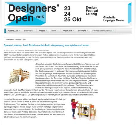 designer's open spielend erleben