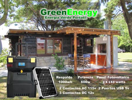 generador fotovoltaico portatil