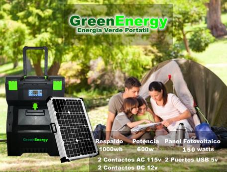 Sistema fotovoltaico portatil